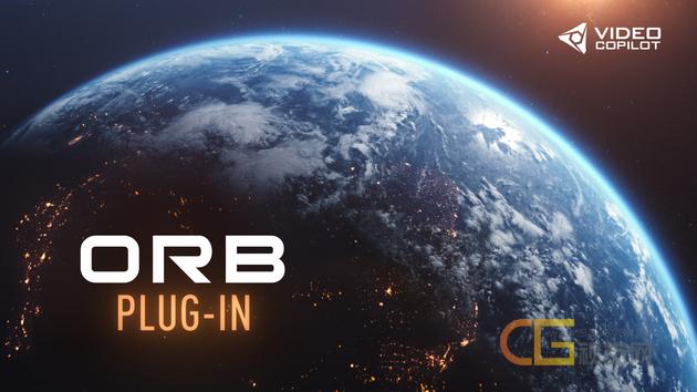 VideoCopilot ORB三维星球制作插件_AK大神插件 含贴图中文字幕教程Win/Mac