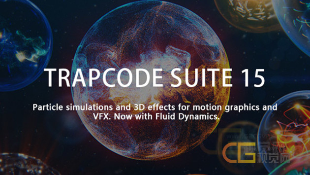 Trapcode Suite 15.1.6 Win/Mac支持AE/PR CC2020版本插件下载