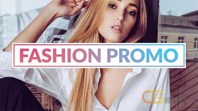 活力快速时尚宣传杂志促销模特展示时装周视频精彩过渡-AE模板下载