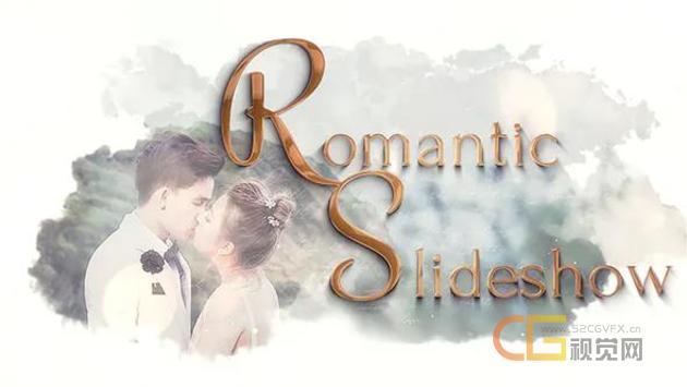 端大气浪漫纯白遮罩效果婚礼视频相册唯美情人节活动幻灯片-AE模板下载