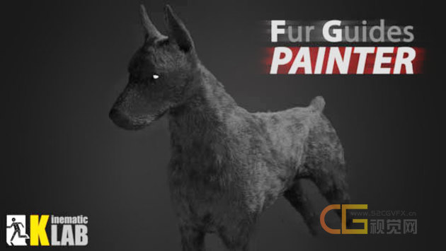 3DS MAX毛发绘制插件 Fur Guides Painter 1.00 for 3DS MAX 2013 – 2020 破解版